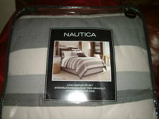 NAUTICA LONDON HARBOR KING  6 PC COMFORTER SET KING SHAMS EURO SHAMS