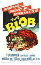 Blob 1958 Poster 01 A2 Box Canvas Print