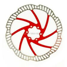 RED TEKTRO Polygon (Auriga/Pro) 180mm Disc Brake Rotor BIKE OEM PACKAGE
