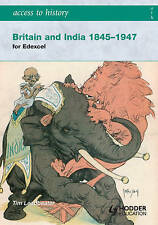 Britain and India 1845-1947 by Tim Leadbeater (Paperback, 2008)
