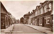 Norwich Street Dereham Coop Shop unused RP old pc 1940 Valentines