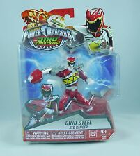 "Power Rangers Dino Super Charge - 5"" Dino Steel Red Ranger Action Figure"