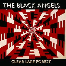 """The Black Angels Lake Forest CLEAR VINYL LP! alternate Record Store Day 10"""" NEW!"""