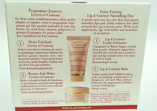 CLARINS SET - 15ML EXTRA FIRMING LIP BALM + 20ML CONTOUR EXFOLIATOR - SAVE ££'s*