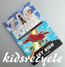 """ZAC POWER Mission #13 (24 hours to save the world..etc) """"SKY HIGH"""" (H.I.Larry)"""