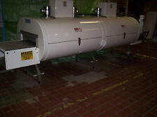 "Cryogenic 2 module 48-2-1 TVS Ln2 or CO2, 1 tier, 48"" conveyer belt"