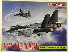 DML Dragon 1/144 Grumman F-14A Plus Tomcat VF-101 Grim Reapers 4529 1990