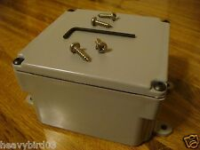 #142  LOCKING MODIFIED JUNCTION BOX HIDDEN DIVERSION SECRET SAFE, CAN