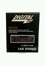 Retro Digital Classic Car Stereo radio Cassette Player  80s & 90s NOS Vintage