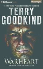 Sword of Truth: Warheart 15 by Terry Goodkind (2016, CD, Unabridged)