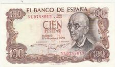 Billet banque ESPAGNE SPAIN ESPANA 100 PTS 1970 neuf new unc 013