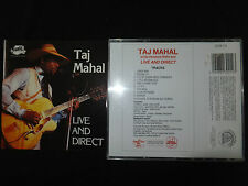 RARE CD TAJ MAHAL / LIVE AND DIRECT /