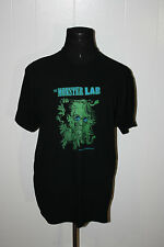 The Monster Lab Mad Scientist Pullover Black Tee Shirt L