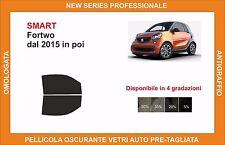 pellicola oscurante vetri pre tagliata smart fortwo dal 2015 kit anteriore