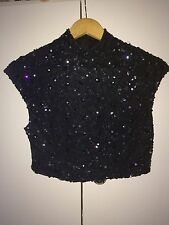 Woman's River Island Sequin Top Size 10