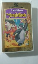 Walt Disney Masterpiece Collection VHS Video Tape The Jungle Book #11070 TESTED