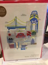 10 Starbucks 2016 New York City NYC Christmas Holiday Gift Card Limited Edition