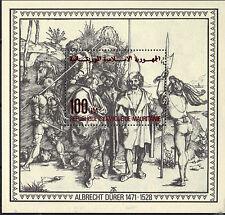 Mauritania 1979 Painter Albrecht Durer (1471-1528) Mercenaries MNH S/S SC # 411