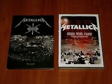 METALLICA 2x DVD Lot FRANCAIS POUR UNE NUIT LIVE & ORGULLO PASSION Y GLORIA New