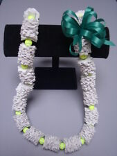 Hawaiian Recycled Paper Lei Tennis Ball Graduation Gift