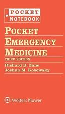Pocket Emergency Medicine by Richard D. Zane