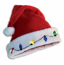 Christmas Holiday Light up Santa Hat By Forum Novelties #381241