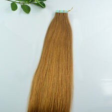 Seamless 12''-24'' 45g-70g 20/40pcs Remy AA Tape 100% Real Human Hair Extensions