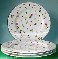 Royal Albert COUNTRY ROSE BUDS SET/4 Dinner Plate(s) Boxed New!