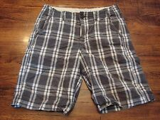 American Eagle Men's Plaid Shorts Longer Length 28
