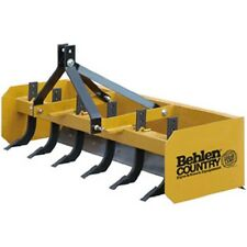 NEW! 6' Heavy Duty Box Blade Tractor Attachment 6 Shank Category 1!!
