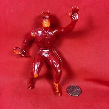 1967 Vintage Daredevil MARX Marvel Super Hero Dare Devil Orange Red