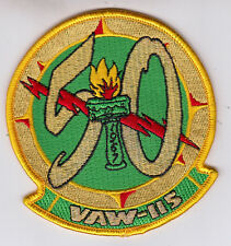 VAW-115 LIBERTY BELLS 50th ANNIVERSARY PATCH