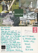 1990 MULTI VIEWS OF SUNDRIGDE PARK BROMLEY KENT COLOUR POSTCARD