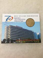 (JC) 70th Anniversary of RTM Coin Card 2016