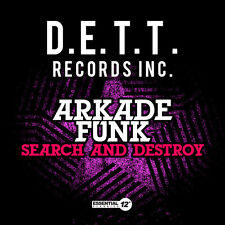 Search & Destroy - Arkade Funk (2014, CD Maxi Single NIEUW)