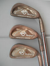 MacGregor Jack Nicklaus RPM Parabolic Groove 2-P,S vintage golf irons