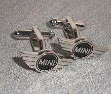 Gemelos MINI ONE COOPER CUFFLINKS RETRO Steel acero.New