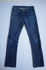 APC A.P.C. New Cure Raw Selvedge Jeans Butler Fades Worn In Denim size 28 x 30