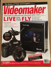 Video Maker Your Guide To Creating And Publishing Video July 2015 FREE SHIPPING!