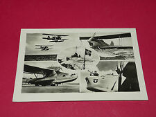 RARE CPA CARTE POSTALE AVIATION LUFTWAFFE 1939-1942 HYDRAVIONS WASSERFLUGZEUGE