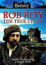Rob Roy - The True Story [DVD] [1996] DVD New &  factory seal Rare