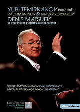 Yuri Temirkanov Conducts Rachmaninov & Rimsky-Korsakov, New DVDs