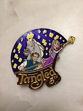 WDI Disney 5th Anniversary TANGLED RAPUNZEL Flynn Rider Pascal LE 250 Pin 112856