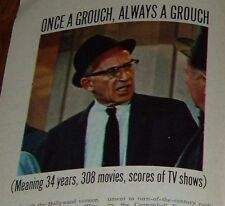 TV ARTICLE~CHARLES LANE LEVISON 1905-2007 102 YEARS OLD~77 YEAR ACTING CAREER