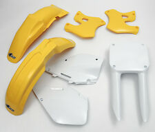 RM 125 250 1996 - 1998 Super EVO Motocross MX UFO Plastic Kit OEM colours Yellow
