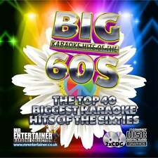 Mr Entertainer Karaoke CDG - The Big 60's Hits - Double Sixties CD+G Discs 2 CDs