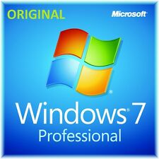Microsoft Windows win 7 Pro professional 32 64 bit  ORIGINALE full product key