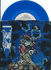 "DAVID BOWIE USA BLUE vinyl 7"" 45 BLUE JEAN~DANCING WITH THE BIG BOYS on EMI, '84"