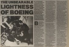 26/5/90Pgn20/21 Article & Picture(s) Blue Aeroplanes In unbearable Lightness Of