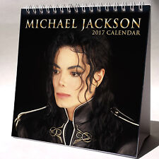 Michael Jackson Desktop Calendar 2017 Dangerous Thriller Billie Jean Bad Beat It